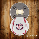 TONY OLIVA HITTING SCHOOL | BASEBALL BOTTLE OPENER