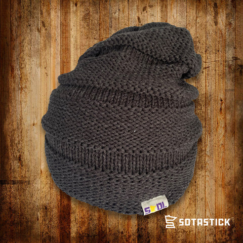 FOOTBALL STATE | SCRUNCH KNIT BEANIE