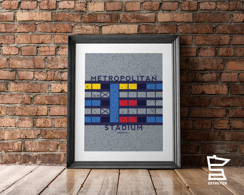 METROPOLITAN STADIUM | ARTWORK