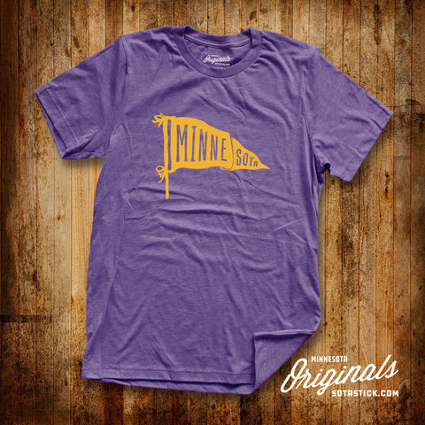 PENNANT x PURPLE | T-SHIRT
