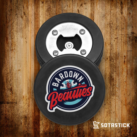 BARDOWN BEAUTIES | PUCK BOTTLE OPENER