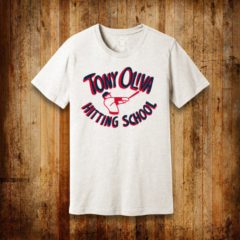 TONY OLIVA HITTING SCHOOL | YOUTH SIZE | T-SHIRT