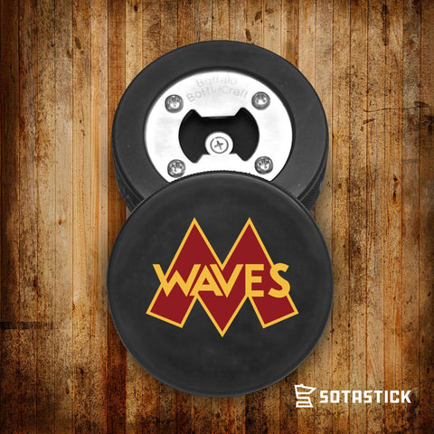 MINNEHAHA WAVES | PUCK BOTTLE OPENER