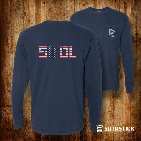 USA | POCKET LONGSLEEVE SHIRT
