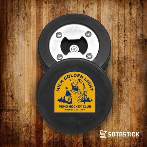MICH GOLDEN POND | PUCK BOTTLE OPENER
