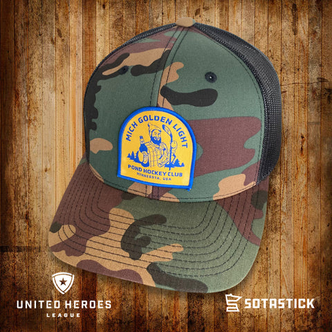 MICH GOLDEN POND | TRUCKER | LTD. EDITION CAMO