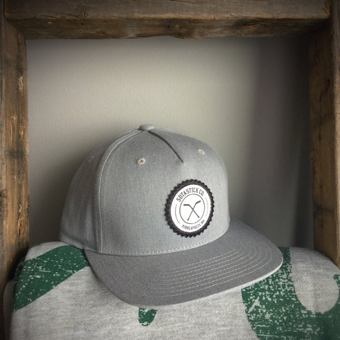 SOTASTICK HOCKEY LOGO SNAPBACK - HEATHER GREY