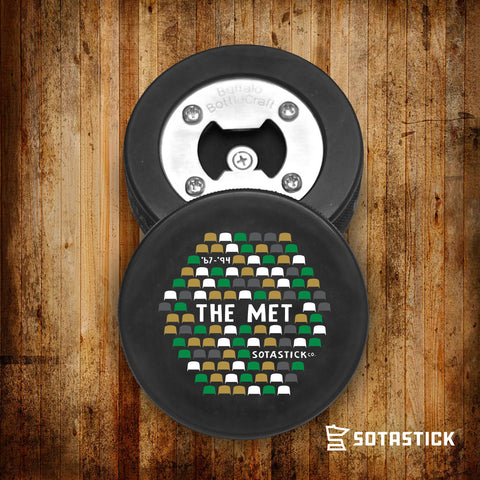 MET CENTER | PUCK BOTTLE OPENER