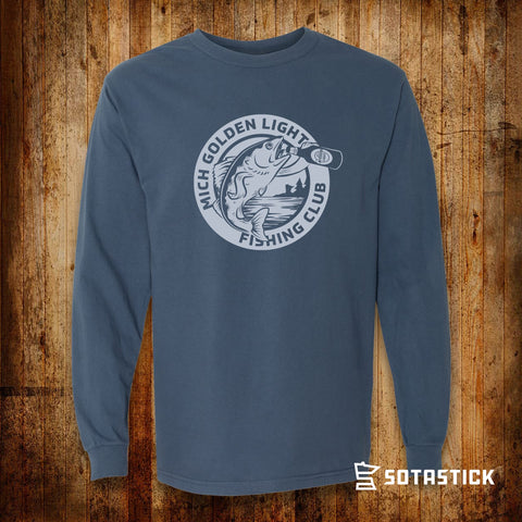 MICH GOLDEN FISHING | LONGSLEEVE SHIRT
