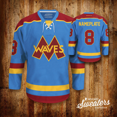 MINNEHAHA WAVES | JERSEY - PERSONALIZE YOUR OWN