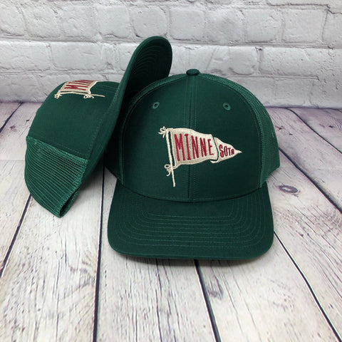 PENNANT x FOREST GREEN | TRUCKER