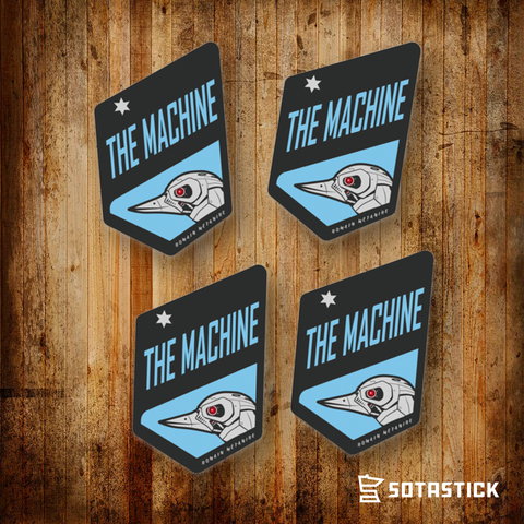 THE MACHINE | BEER FRIDGE STICKER 4 PACK