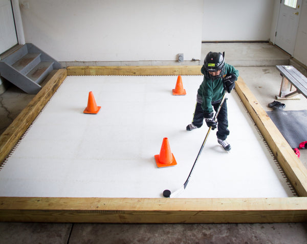 10' x 10' Skate Anytime Synthetic Ice Deluxe Kit