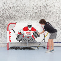 ULTIMATE GOALIE SHOOTER TUTOR HOCKEY TARGET