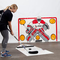 PASSMASTER HOCKEY PASSER AND PUCK REBOUNDER