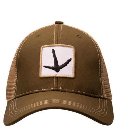 Turkey Foot Trucker Hat Olive