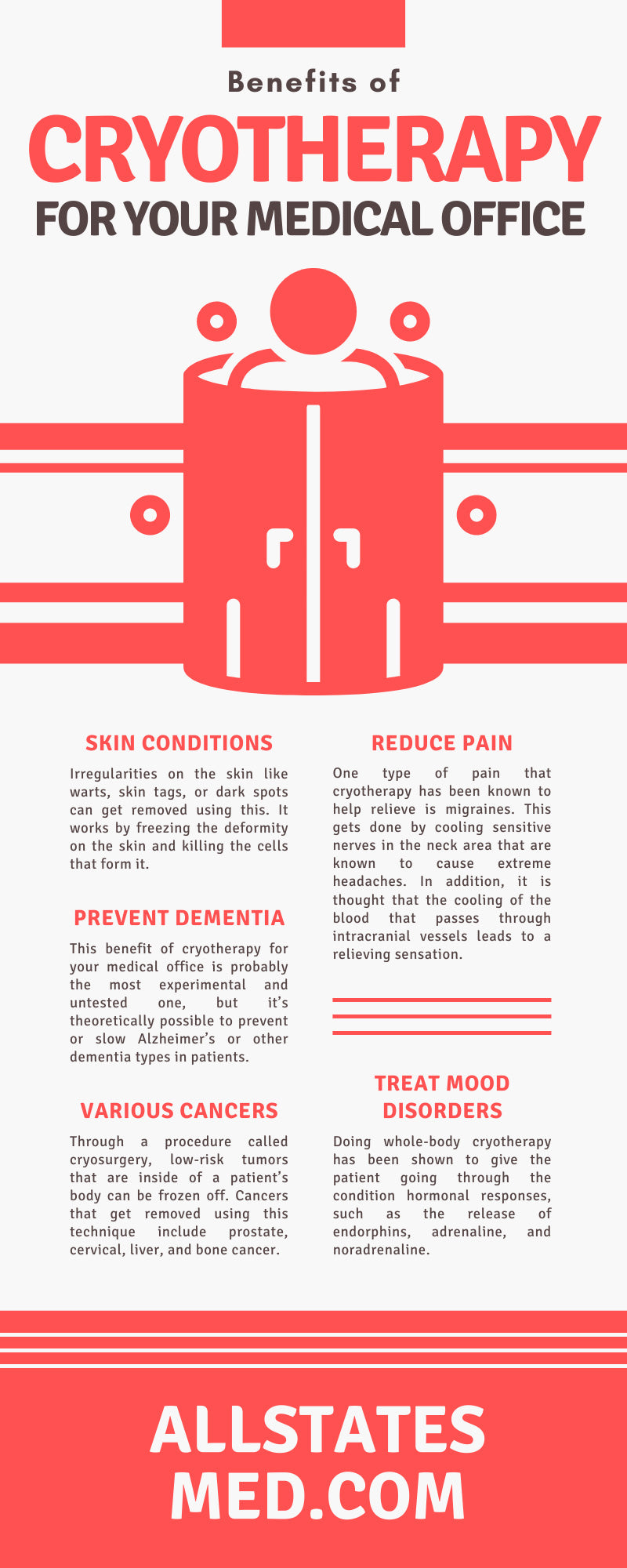 Benefits of Cryotherapy for Your Medical Office