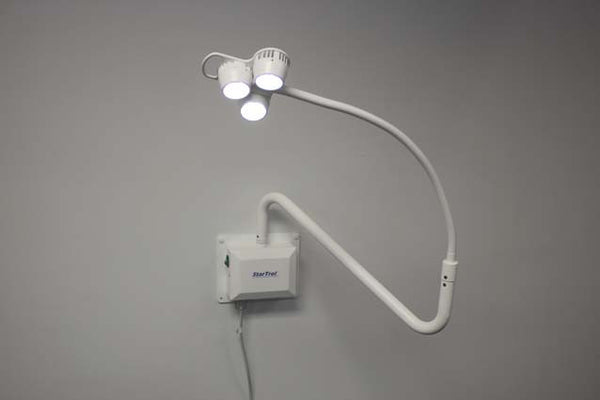 Startrol 3X3 Wall Mount Exam Light - Call for Price