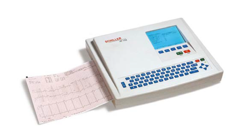 Schiller Cardiovit AT-102 ECG w/Interpretation, Memory & PFT