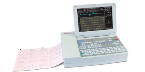 Schiller Cardiovit AT-10 Plus EKG Resting EKG Machine