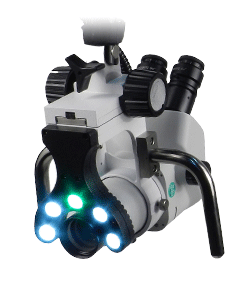 Bovie Colpo-master™ I Swing Arm Colposcope 110v  45° Binocular Zoom Head, 3 Leg Base (CS-103LED)