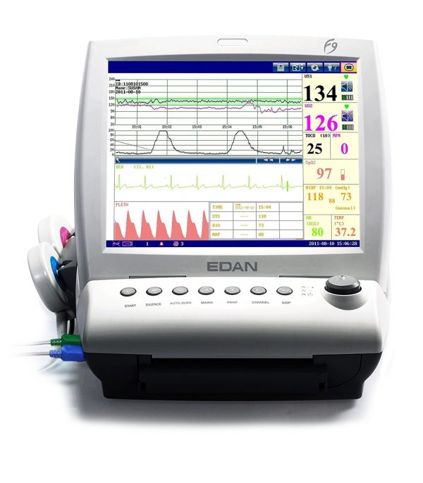 F9 Express Fetal/Maternal Monitor with DECG/IUP and Touch Screen