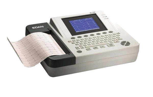 Edan SE-1200 ECG/EKG Machine