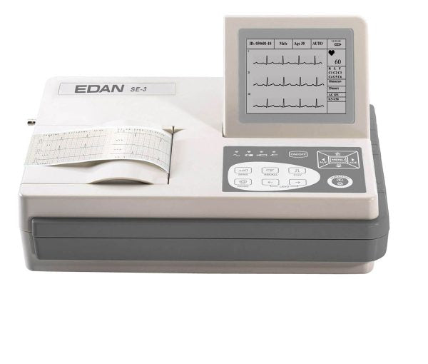 Edan SE-3 ECG Machine (Wide Screen)