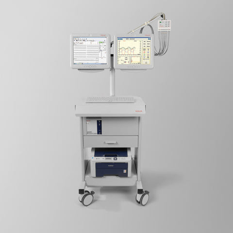 9.040100 CARDIOVIT AT-104 PC Ergo-Spirometry System Metabolic cart with 12-channel electrocardiograph menu-controlled suitable for practical applications unparalleled ease of operation