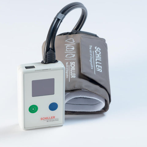 2.293000 Opt2 NEW! - Premium Ambulatory long term blood pressure recorder BR-102 PLUS with DARWIN PC Analysis Software, Oscillometric Measurement Method (main) in combination with Auscultatory Backup Measurements.