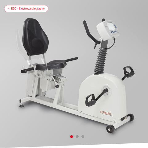 2.210070 SCHILLER Seat Ergometer bicycle ERG 911 SEAT special construction for very heavy patients 115 or 230 VAC - pls specify when ordering, 50/60Hz