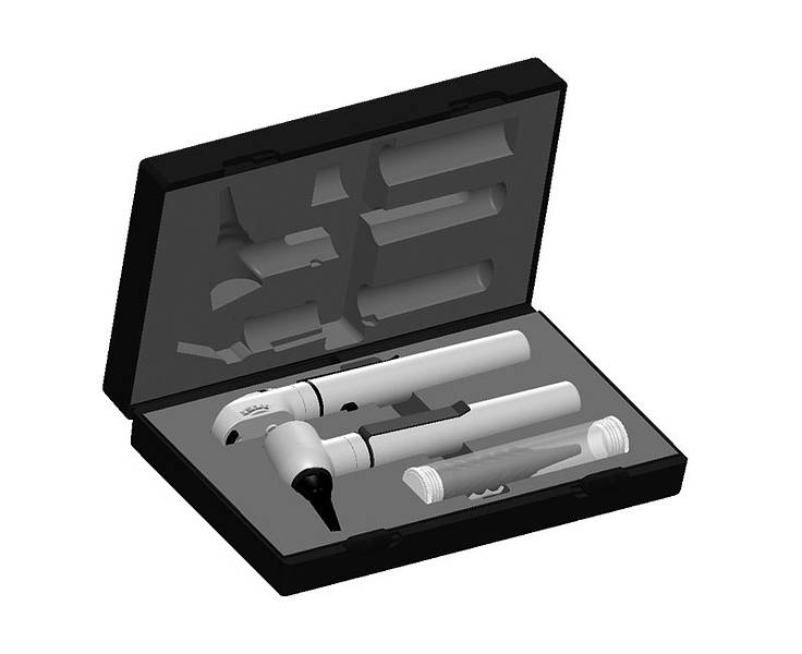 Riester e-scope® F.O. otoscope/ophthalmoscope XL/LED