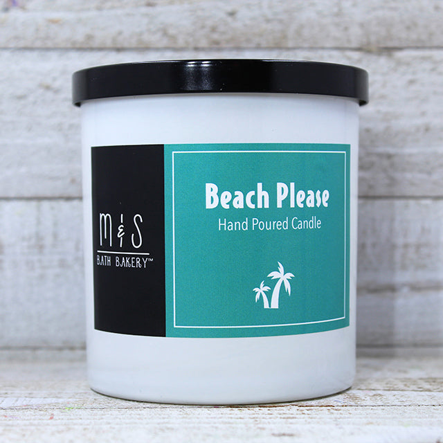 BEACH PLEASE! <br> Hand-Poured Candle