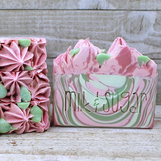 CANNABIS ROSE <br> Artisan Soap