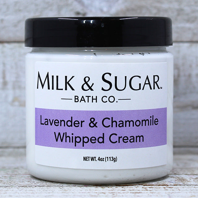 LAVENDER & CHAMOMILE <br> Whipped Body Cream
