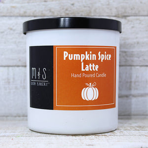PUMPKIN SPICE LATTE <br> Hand-Poured Candle