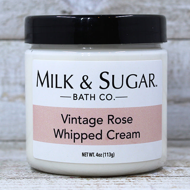 VINTAGE ROSE <br> Whipped Body Cream