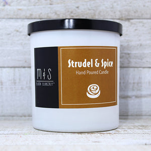 STRUDEL & SPICE <br> Hand-Poured Candle