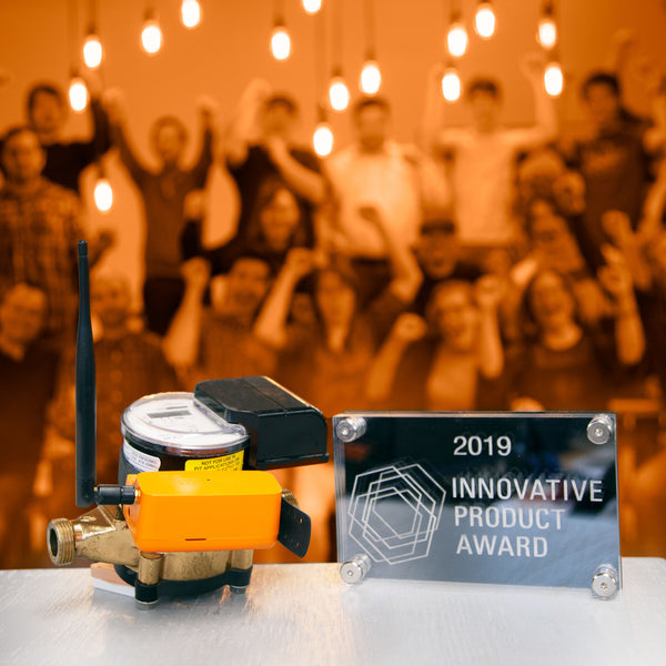 Flowie Wins Innovative Product of 2019 at The Buildings Show