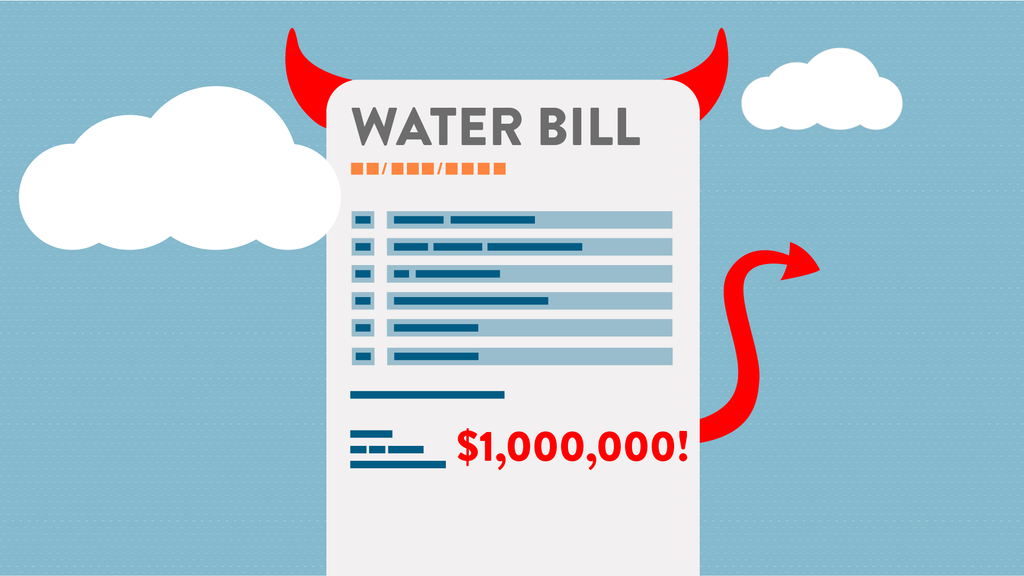 Why your water bills are so darn high