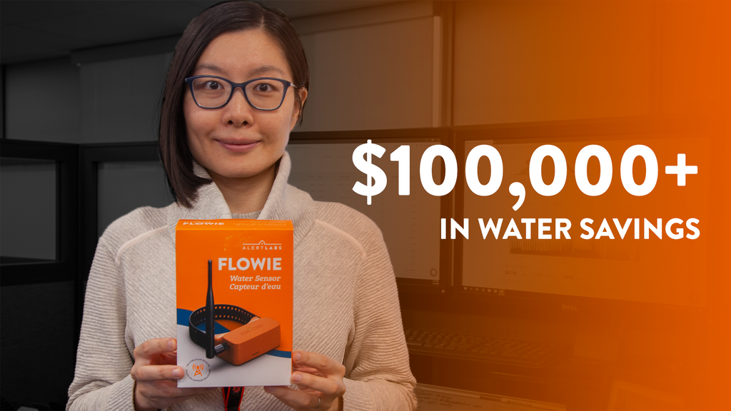 College Saves $100,000 with Water Flow Sensor