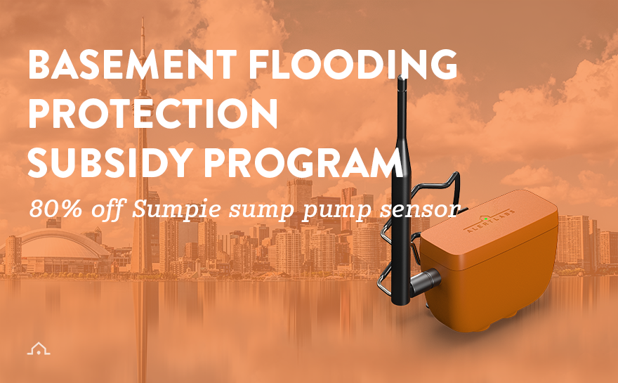 Save 80% On Sump Pump Sensor with Toronto Basement Flooding Protection Subsidy
