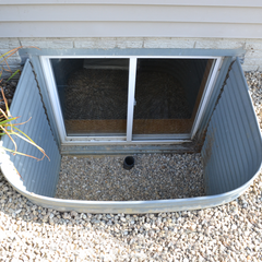 WINDOW WELL WITHOUT COVER CAN CAUSE BASEMENT FLOODS