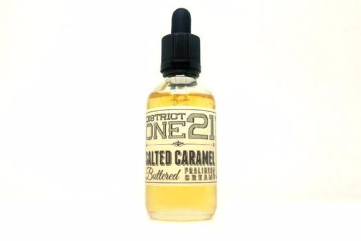 Salted Caramel by DISTRICT ONE 21 E-LIQUID 60ml