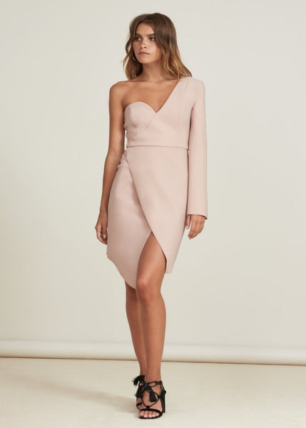 CHANCES DRESS soft pink