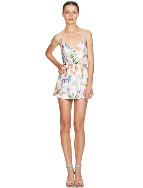 Remedy Floral Playsuit