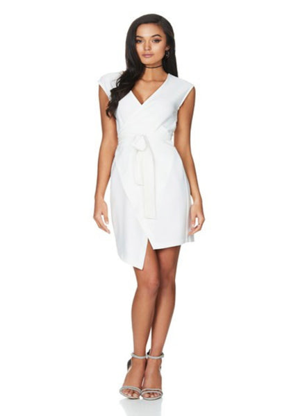 Empire Wrap Dress