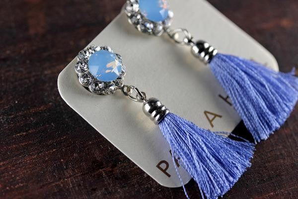 Mini Gatsby Tassels in Jacaranda
