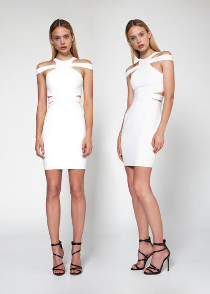 Safari Dress - White