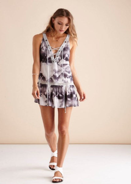 Shady Palms Mini Dress